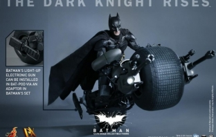 The Dark Knight Rises - Batman/Bruce Wayne Accurate Action Figure