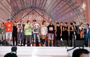 Coca-Cola Happy Energy Tour 2012 - финал в София