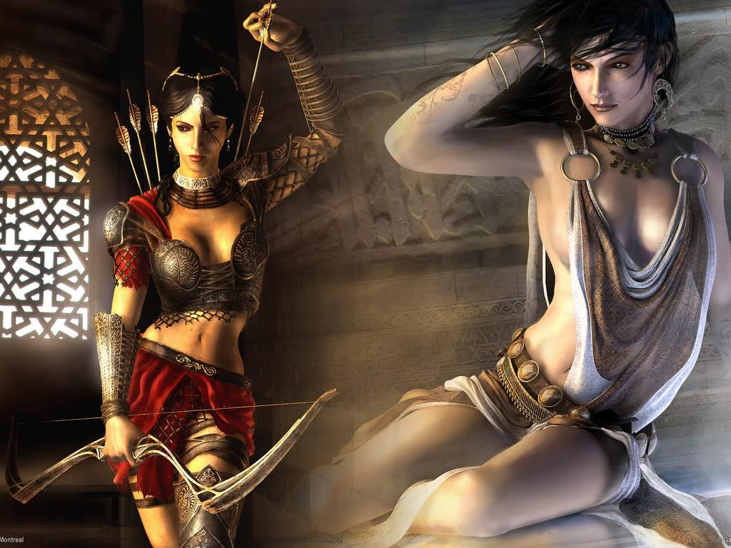 Prince of persia nude skin