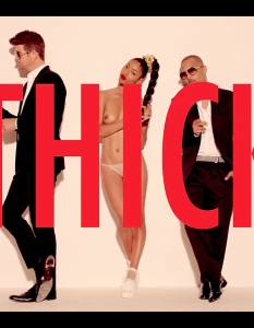 Robin Thicke feat. Pharrell Williams & T.I. – Blurred Linesот албум: Blurred Lines