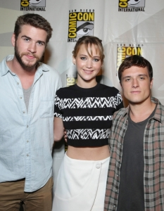 Актьорите от The Hunger Games; Catching Fire на Comic-Con: San Diego 2013 - 2