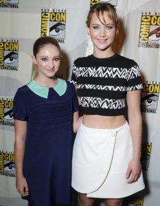 Актьорите от The Hunger Games; Catching Fire на Comic-Con: San Diego 2013 - 5