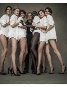 Pirelli Calendar 2014 Preview Photoshoot (официални и behind-the-scene кадри) - 6