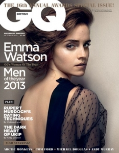 Петте корици на 2013 GQ Men of the Year Awards Special Issue (10/13) - 2