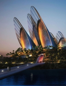 Zayed National Museum, Абу Даби. Архитект: Foster + Partners
