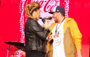 Sanny Alexa на Coca-Cola Happy Energy Tour 2013 в София