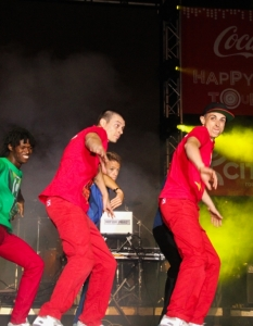 Macosa Nostra на Coca-Cola Happy Energy Tour 2013 в София - 5