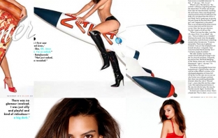 The Girl Who Stole Summer: Емили Ратайковски за GQ, ноември 2013