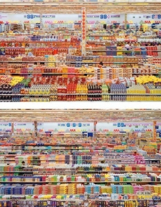 "5. Andreas Gursky ""99 Cent II Diptychon"" (2001) $3 346 456"