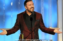 Златен глобус 2012 (Golden Globe Awards 2012) - откриване с Рики Жервейс