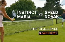 Instinct vs Speed / Novak Djokovic vs Maria Sharapova: Sharpshooting