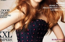 Jessica Chastain за Marie Claire December 2012 (behind-the-scene)