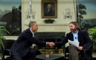 Барак Обама е брилянтен в Between Two Ferns със Зак Галифианакис