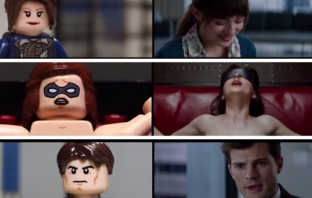 Fifty Shades of Bricks (Fifty Shades of Grey Lego Trailer)