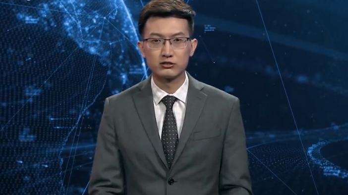 Първият в света телевизионен водещ робот дебютира в Китай