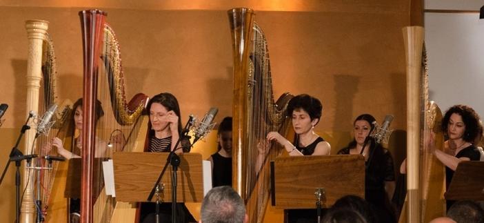 Български музиканти с концерт за арфа в Париж