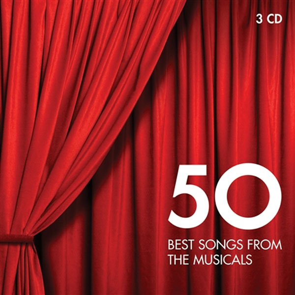 Various Artists - 50 Best Songs From The Musicals (3CD)