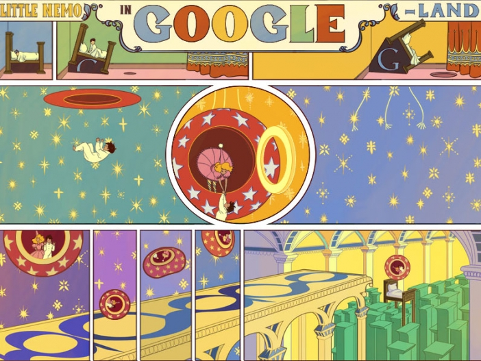 Happy Google Day: Little Nemo in Google Land